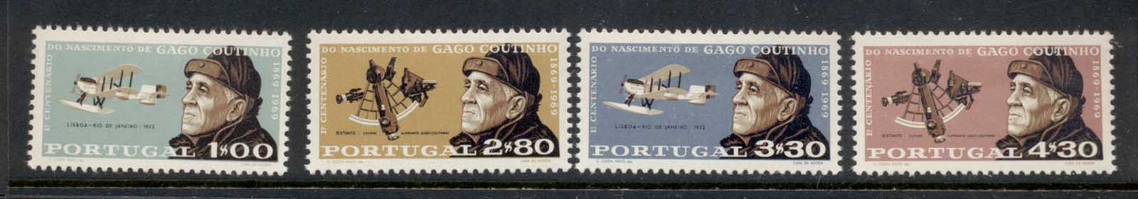 Portugal 1969 Admiral Coutinho MLH