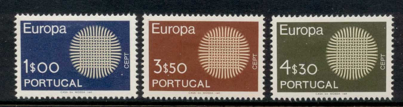 Portugal 1970 Europa MLH