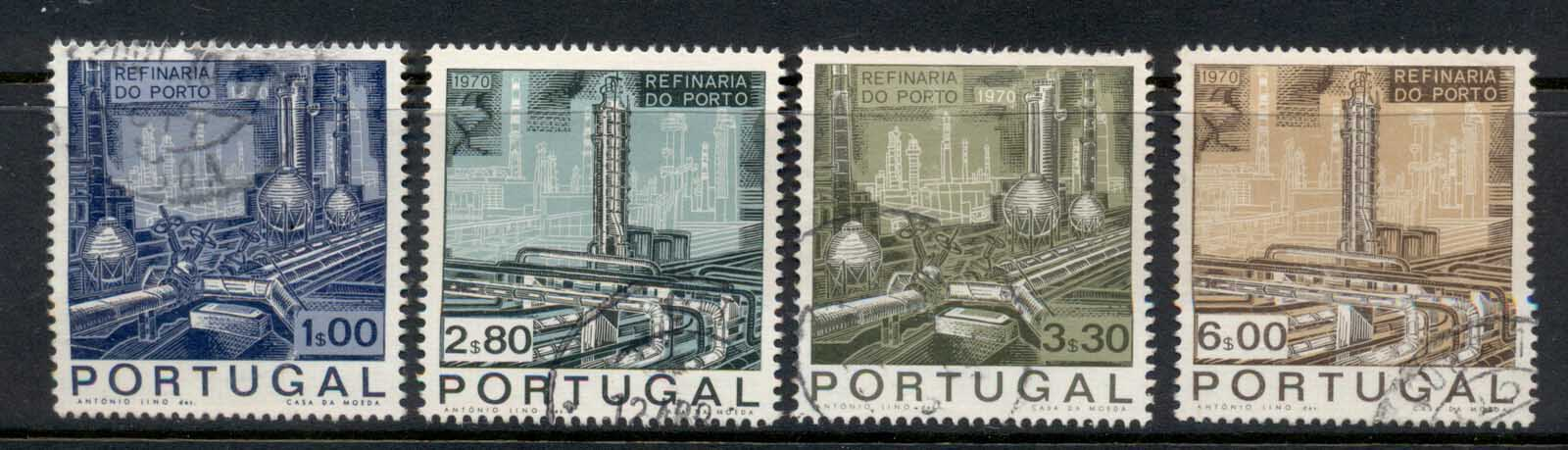Portugal 1970 Oporto Oil Refinery FU