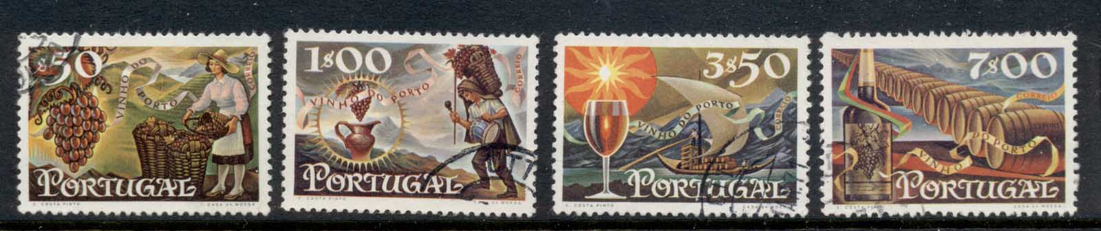 Portugal 1970 Wine Exports FU