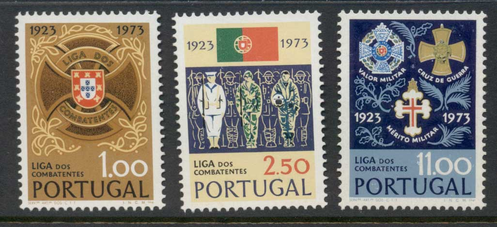 Portugal 1973 Servicemen's League MLH