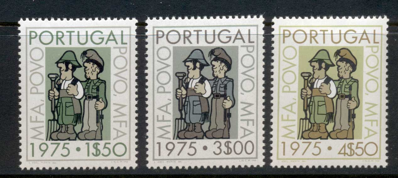 Portugal 1975 Cultural Progress MLH