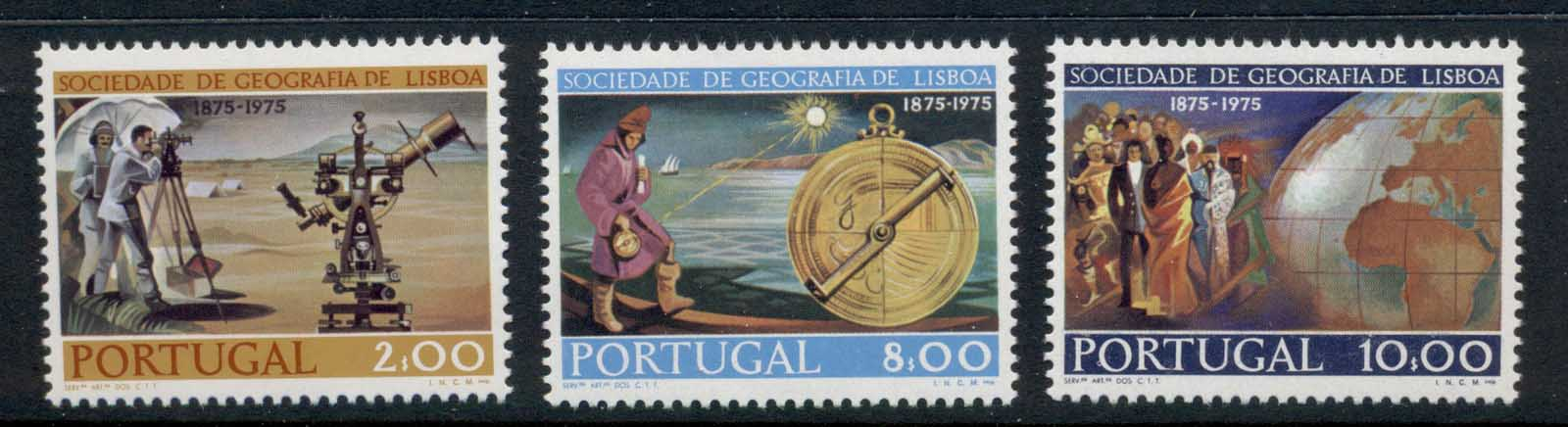 Portugal 1975 Lisbon Geographical Society MLH
