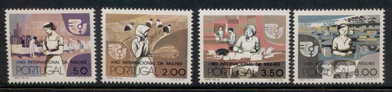 Portugal 1975 IWY Intl. Women's Year MLH