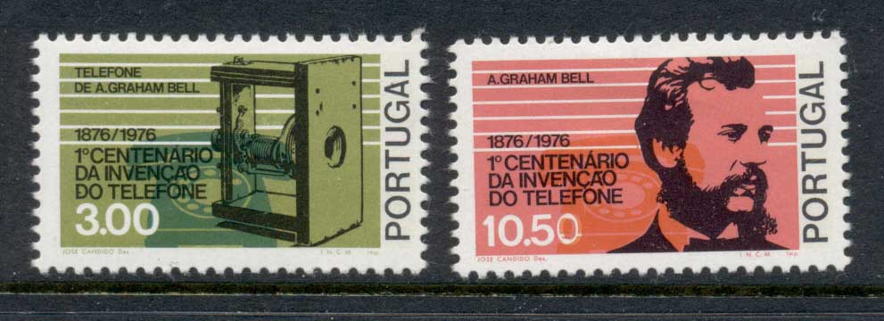 Portugal 1976 Telephone Centenary MLH