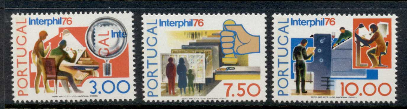 Portugal 1976 Interphil Stamp Ex MLH