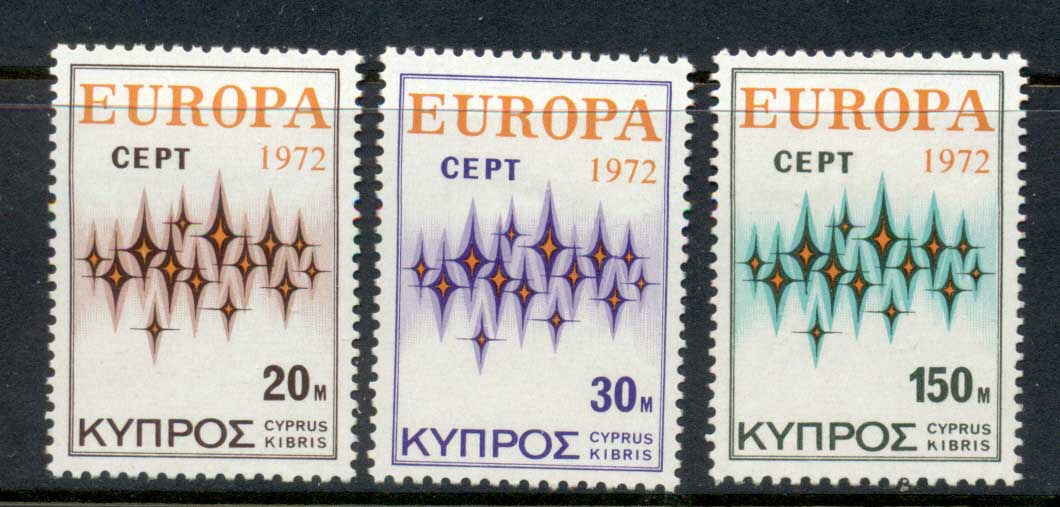 Cyprus 1972 Europa MLH