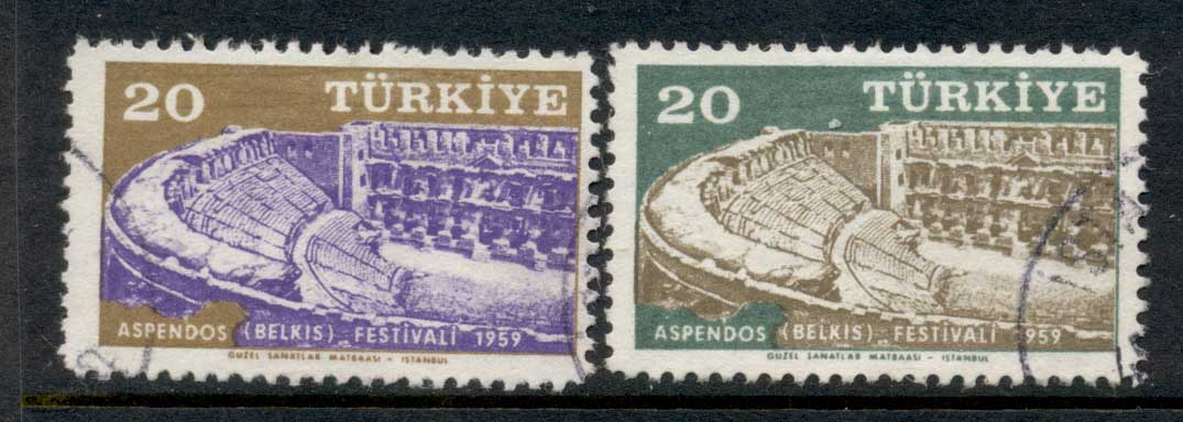 Turkey 1959 Belkins Festival FU