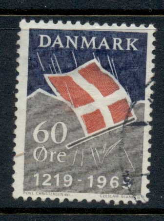 Denmark 1969 Danish Flag FU