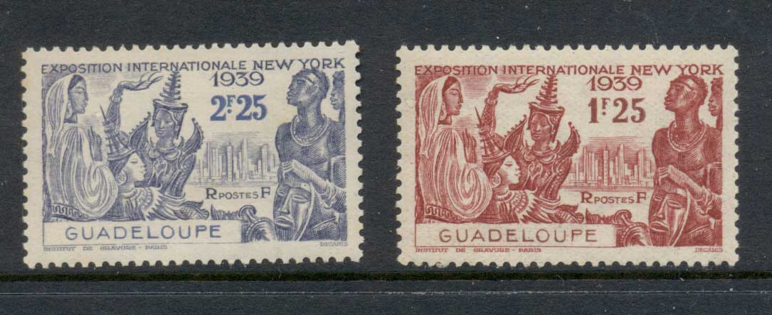 Guadeloupe 1939 New York World's fair MLH