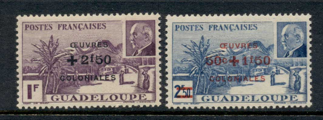 Guadeloupe 1944 Colonial Development Fund MLH