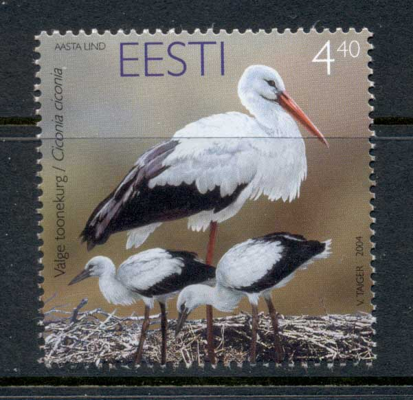 Estonia 2004 Birds, Stork MUH