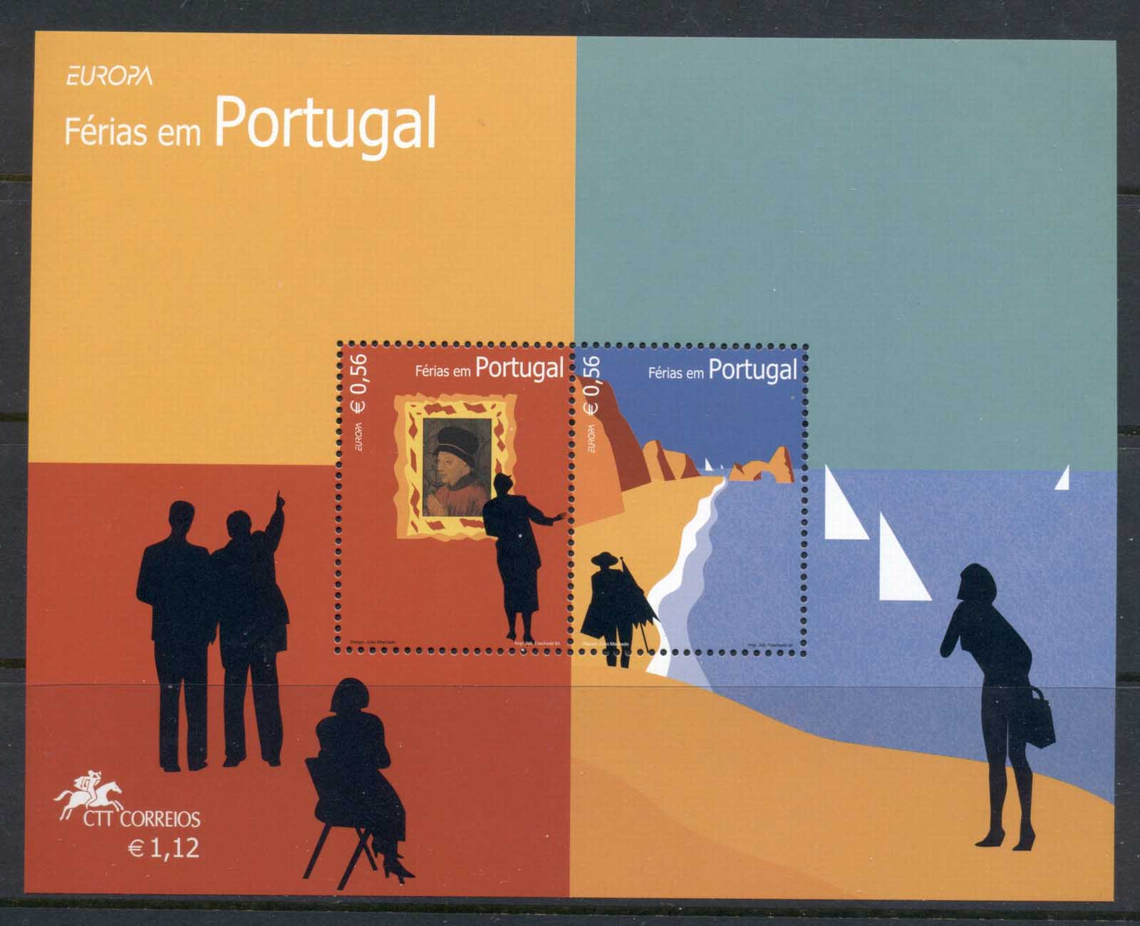 Portugal 2004 Europa MS MUH