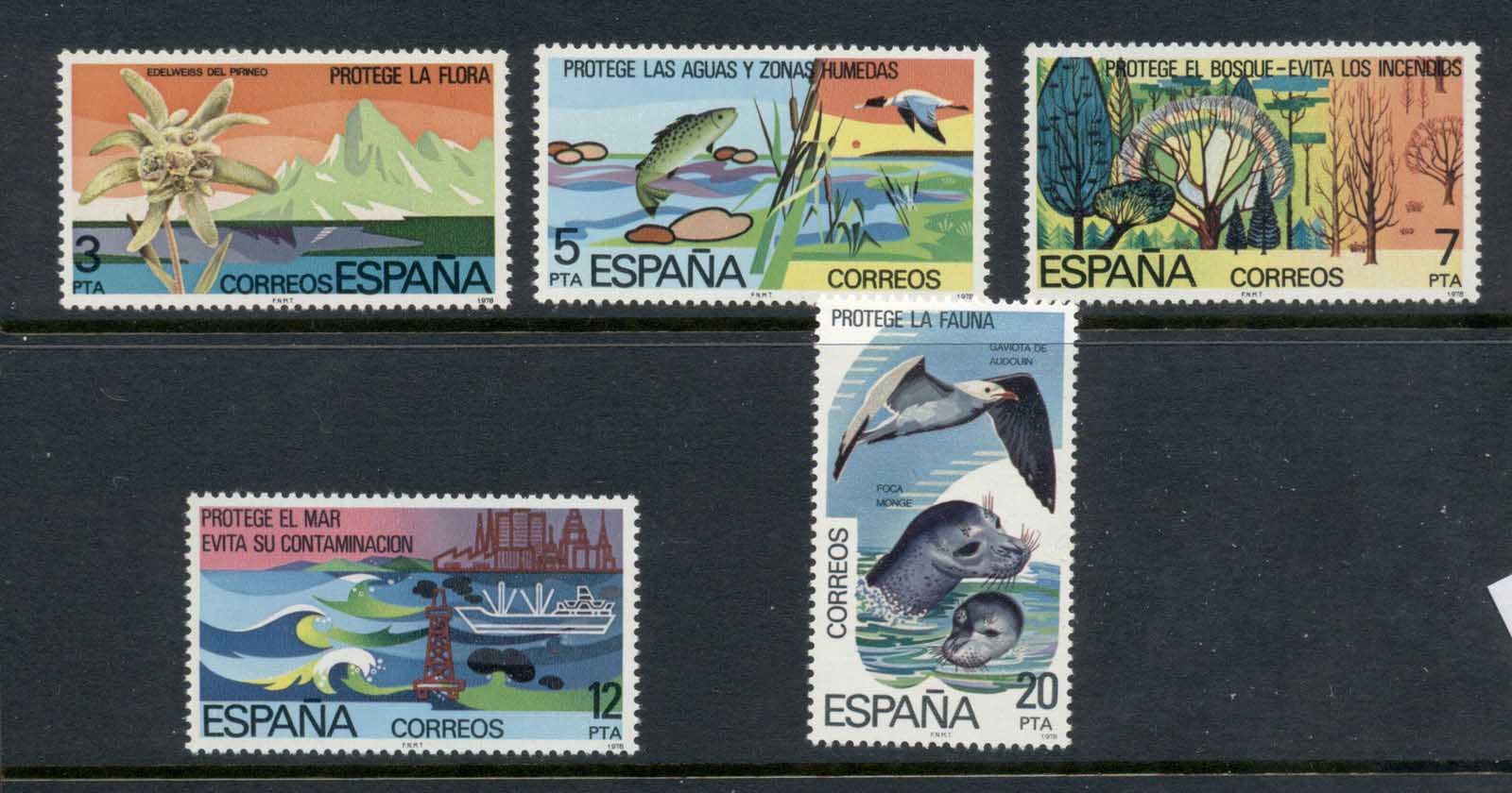 Spain 1978 Protection of the Environment MUH