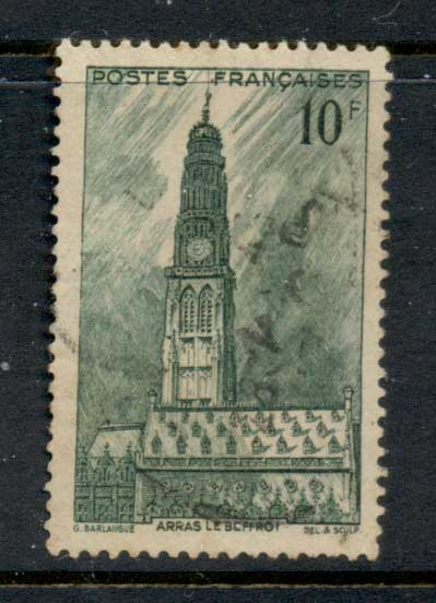France 1942 Town Hall Belfry FU