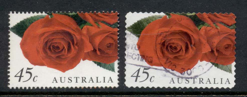 Australia 1999 Rose Sheet & P&S FU