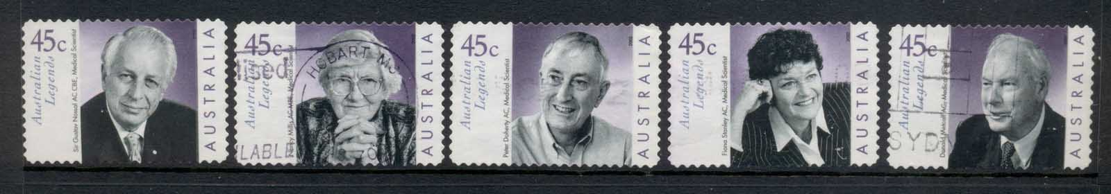 Australia 2002 Australian Legends P&S FU