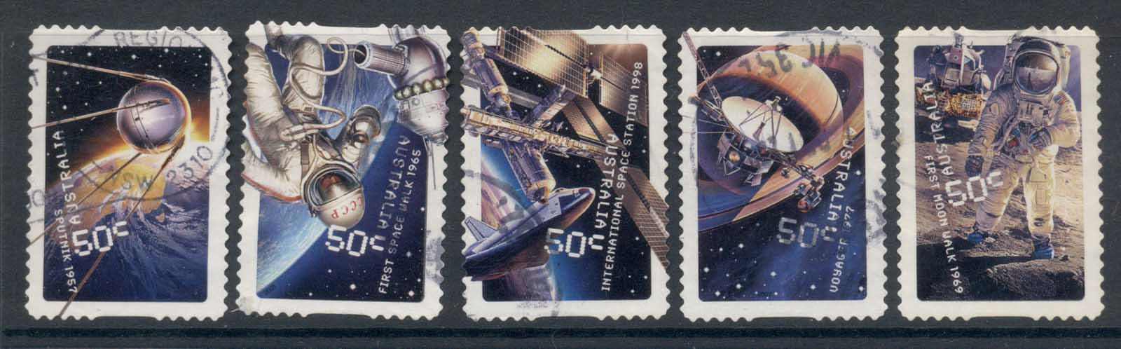Australia 2007 Space Age 50th Anniv. P&S FU
