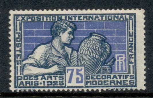 France 1925 Intl. Exhibition of Decorative Modern Arts 75c MUH