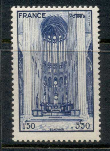 France 1944 French Cathederals, Beauvais MUH