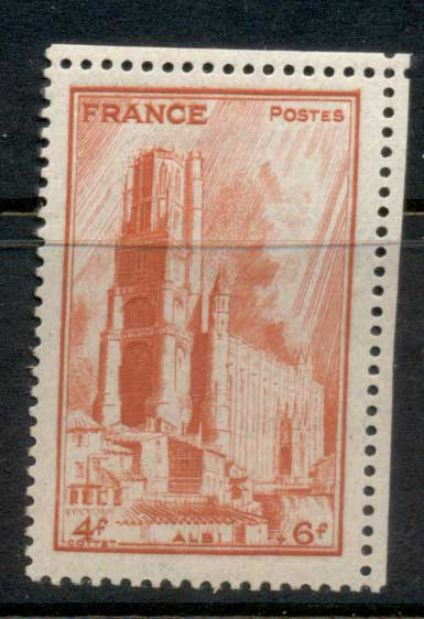 France 1944 French Cathederals, Albi MUH