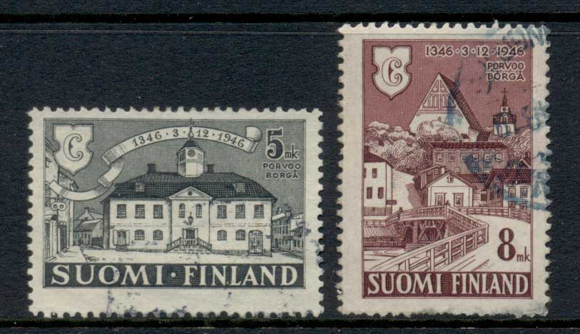 Finland 1946 City of Provoo FU