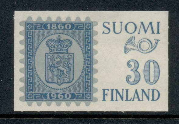 Finland 1960 Stamp Centenary Ex (gum inclusions) MH