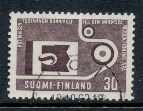 Finland 1962 national Production Process FU