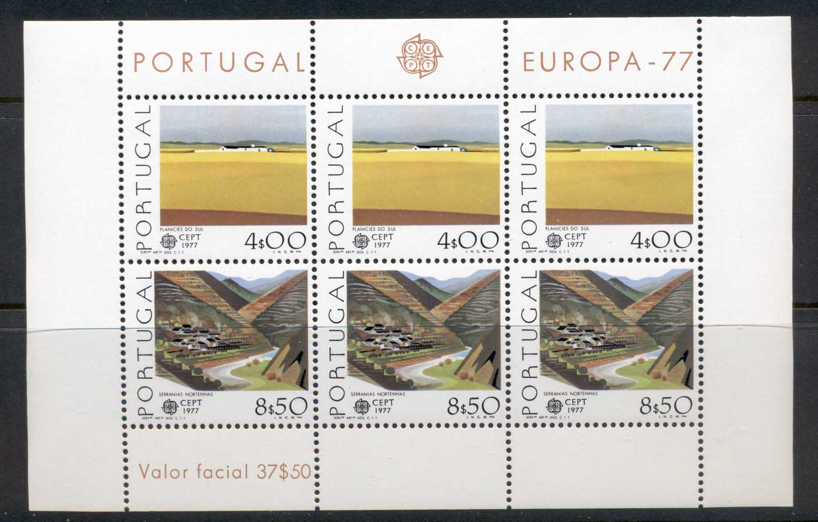 Portugal 1977 Europa MS MUH