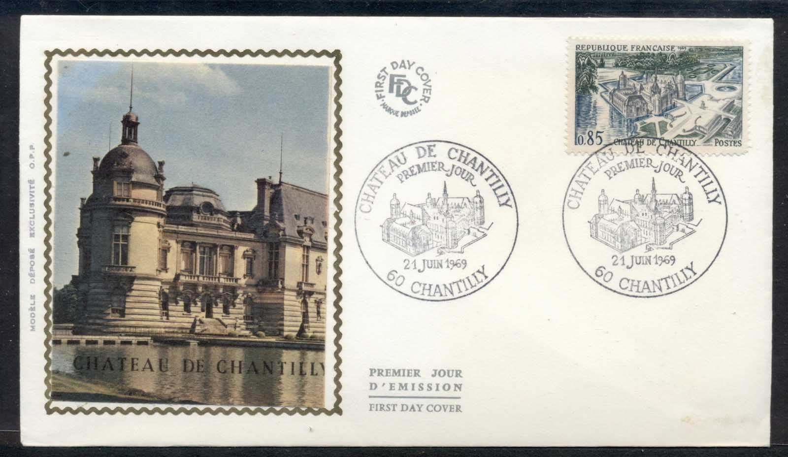 France 1969 Chateau de Chantilly FDC