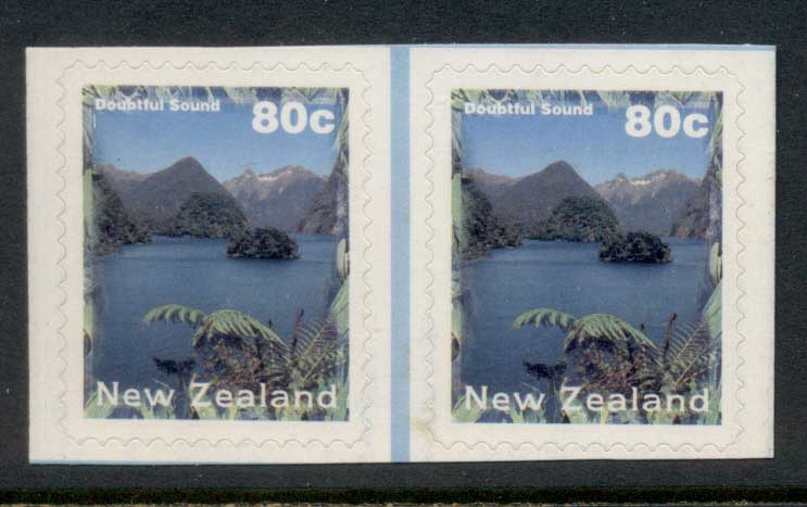 New Zealand 1996 Doubtful Sound 80c P&S pr MUH