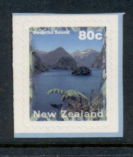 New Zealand 1996 Doubtful Sound 80c P&S MUH
