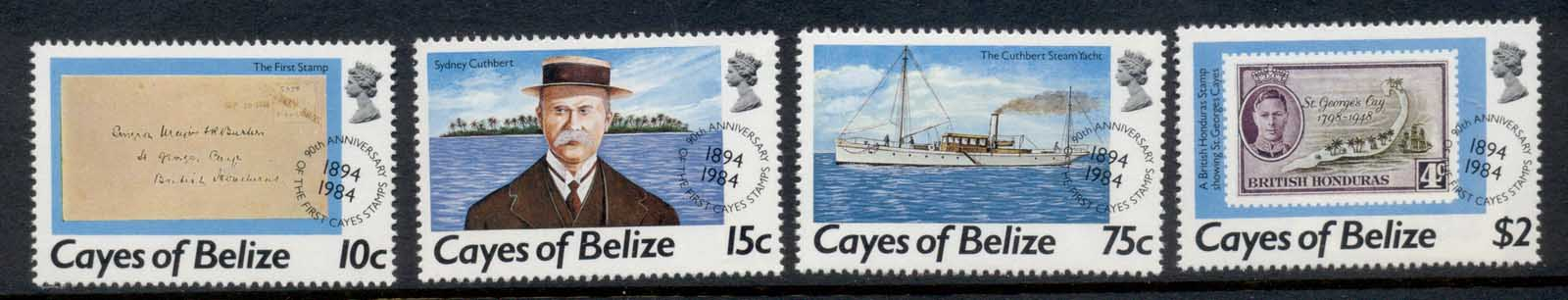 Cayes of Belize 1984 Mail Services MUH