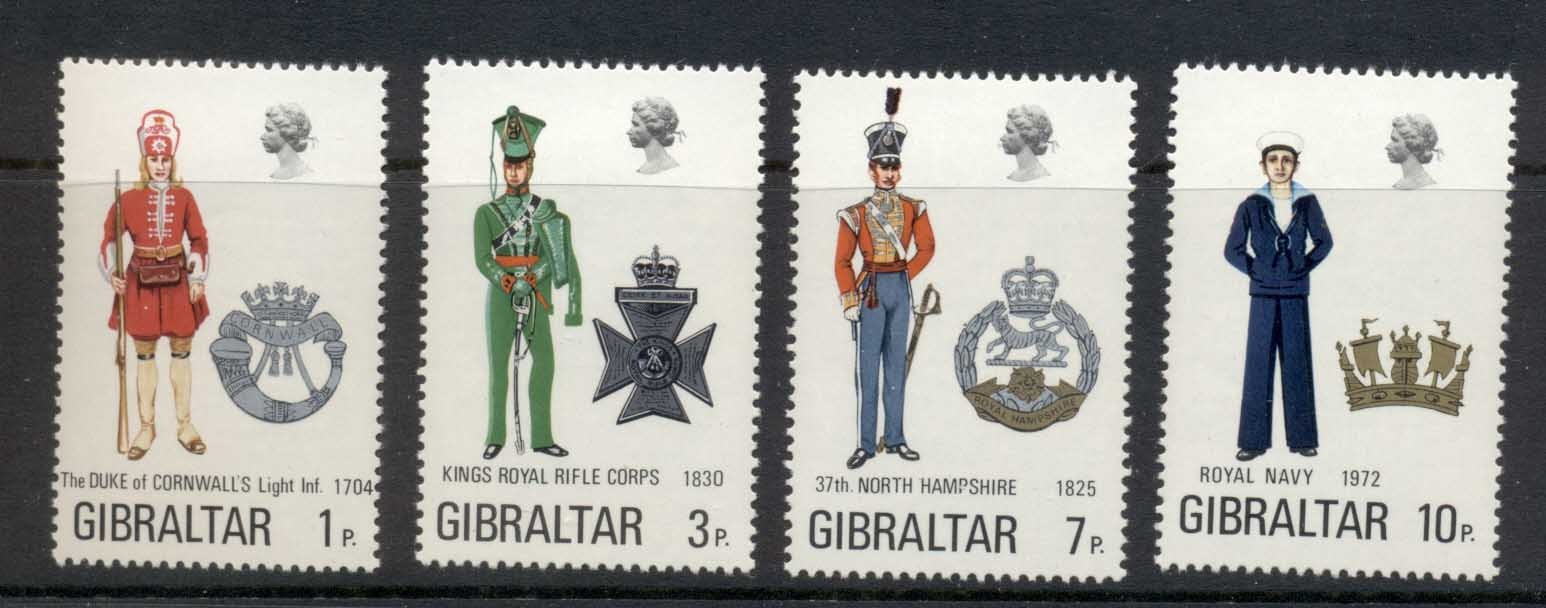 Gibraltar 1971 Military Uniforms MLH