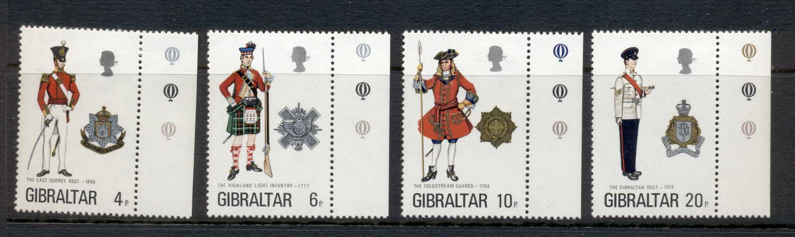 Gibraltar 1975 Military Uniforms MLH
