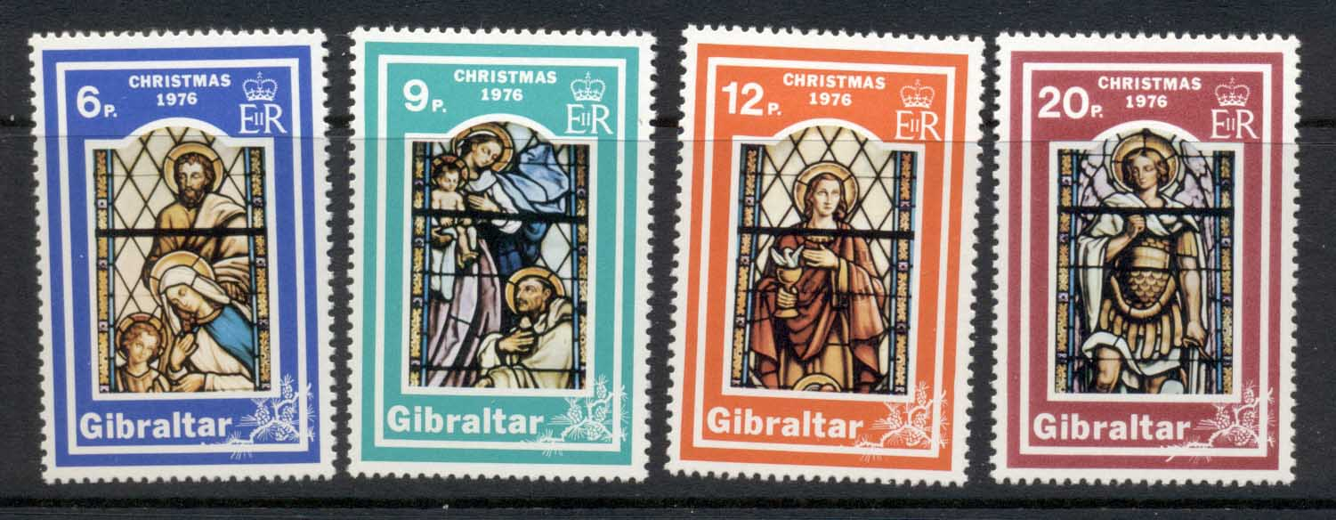 Gibraltar 1976 Stained Glass Windows MLH