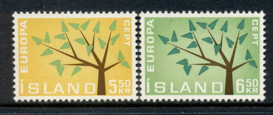 Iceland 1962 Europa MLH