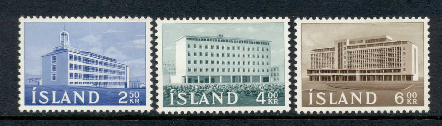 Iceland 1962 Production Institute MLH