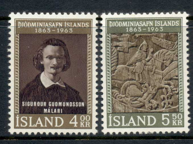Iceland 1963 national Museum MLH