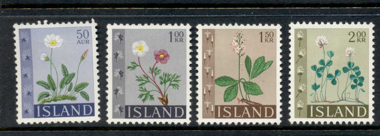 Iceland 1964 Flowers MLH