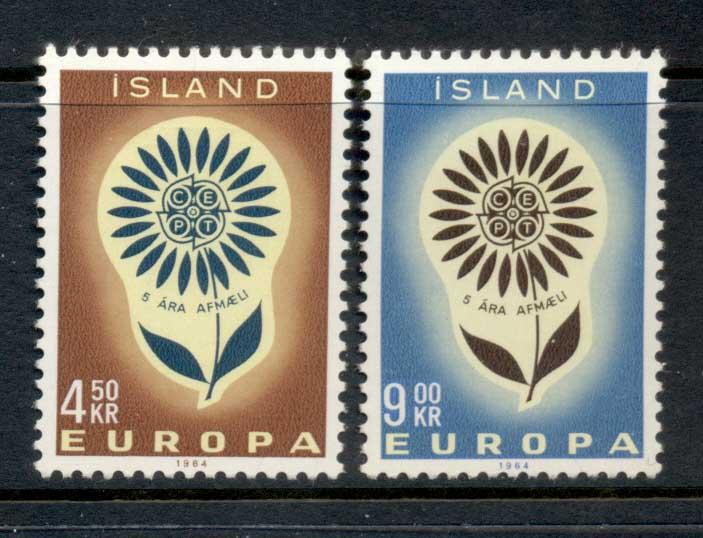 Iceland 1964 Europa MLH
