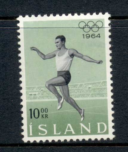 Iceland 1964 Summer Olympics Tokyo MLH