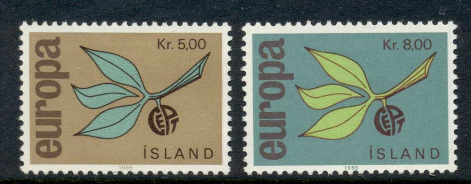 Iceland 1965 Europa MLH