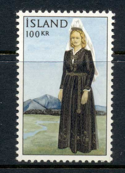 Iceland 1966 National Costume MLH
