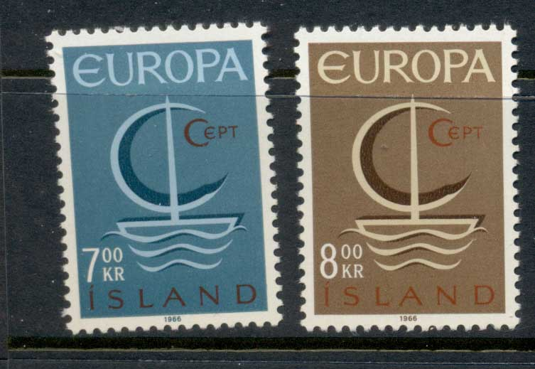 Iceland 1966 Europa MLH
