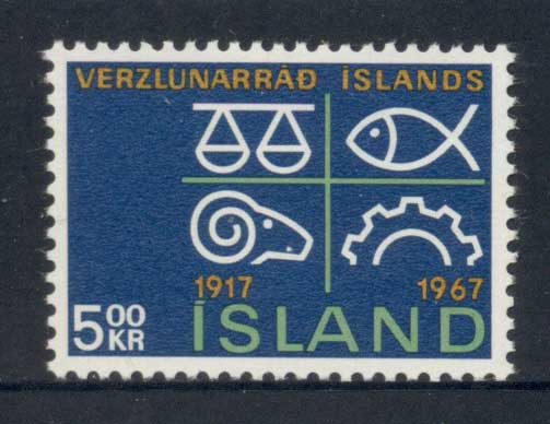 Iceland 1967 Chamber of Commerce MLH