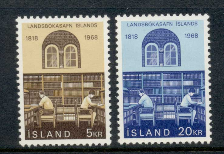 Iceland 1968 National Library MLH
