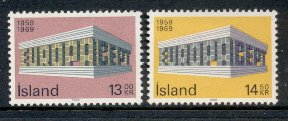 Iceland 1969 Europa MLH