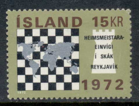 Iceland 1972 World Chess Championships MLH