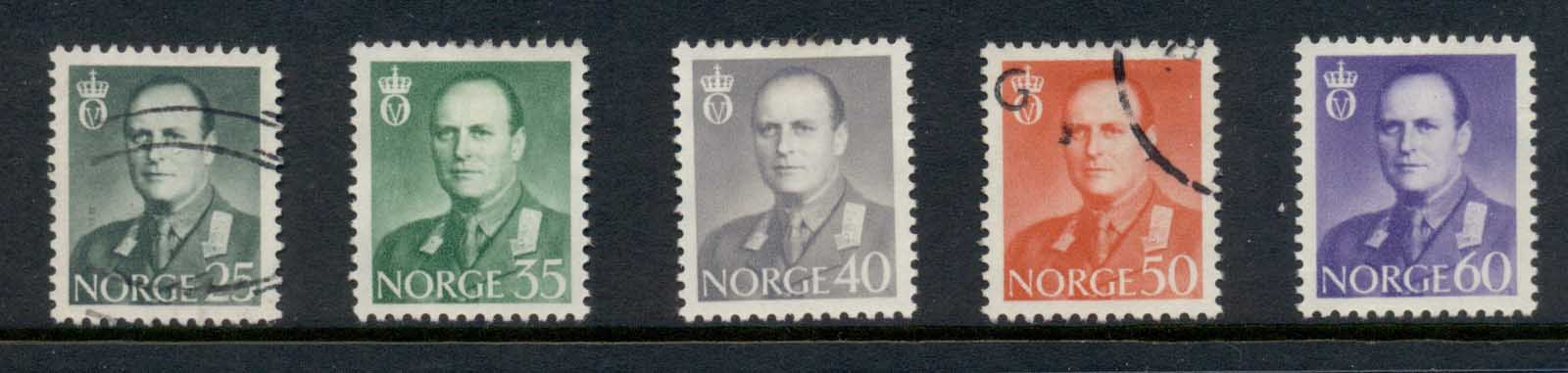Norway 1962 King Olav MLH/FU